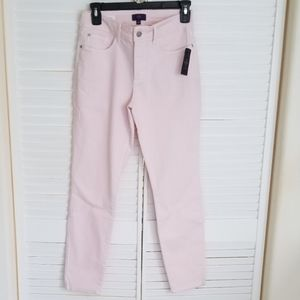 NYDJ jeans Clarissa Ankle length Pale Pink